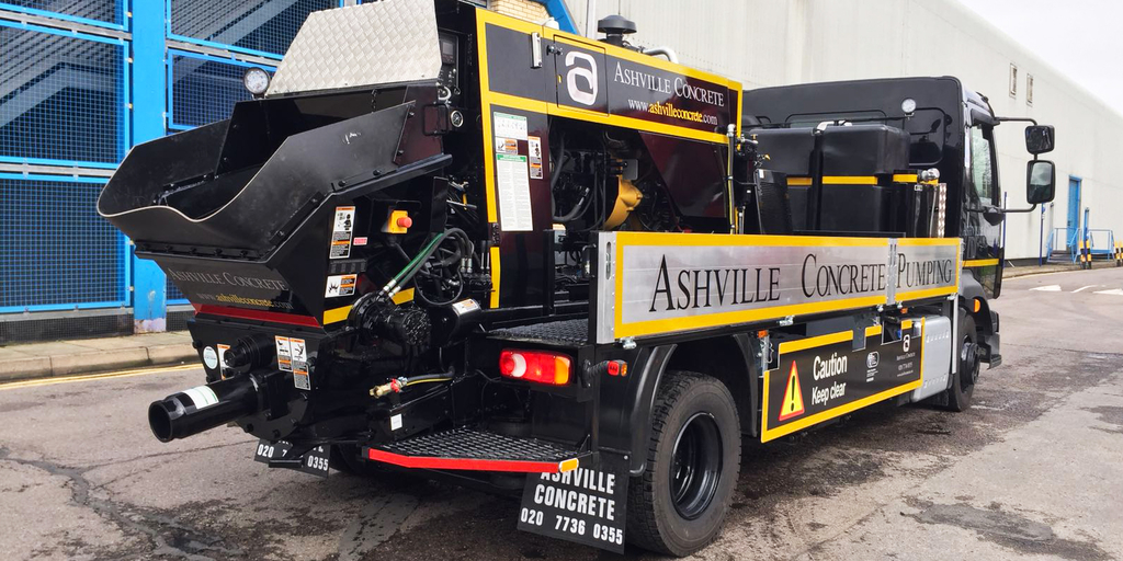 Concrete Pump Hire Loudwater