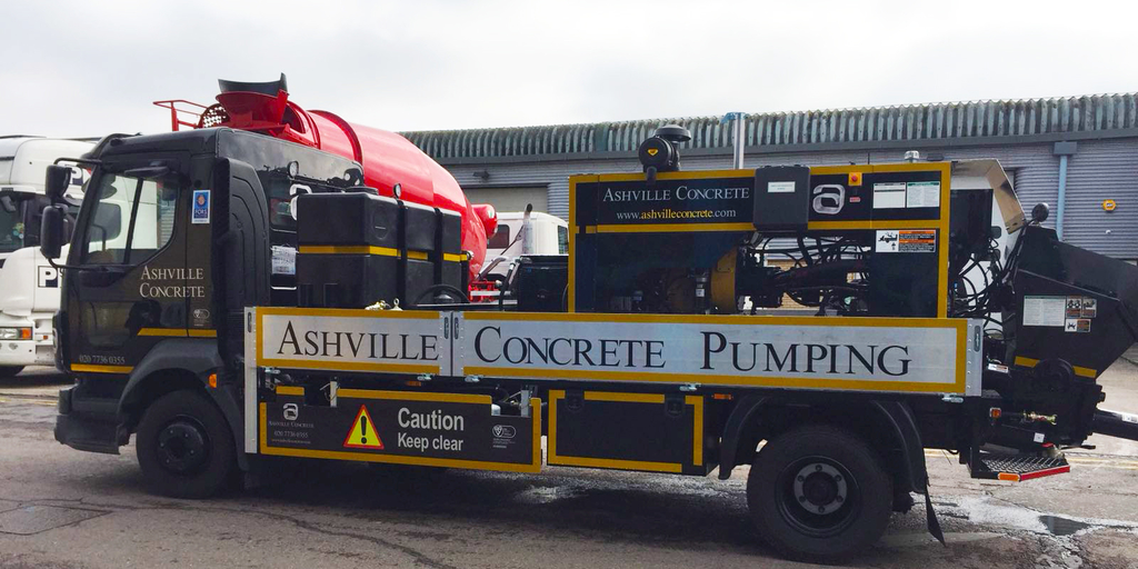 Concrete Pump Hire Slough