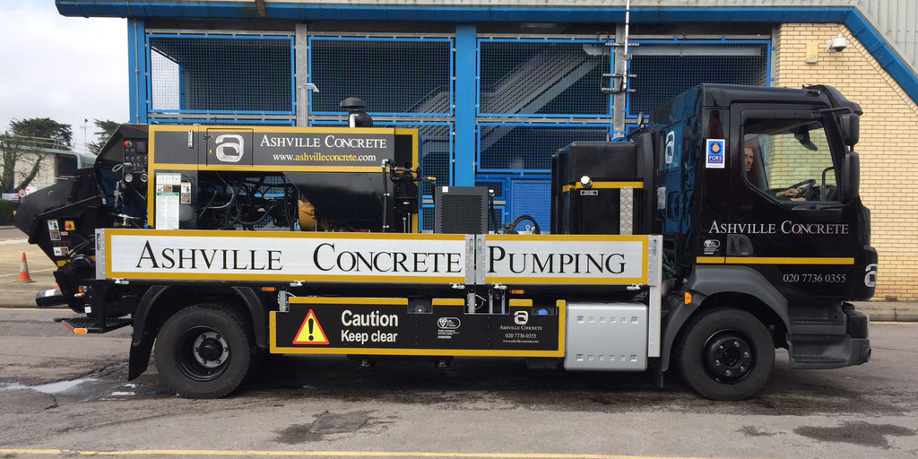 Concrete Pump Hire Virginia Water