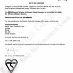 Ashville Obtain BSI Concrete Compliant Recognition