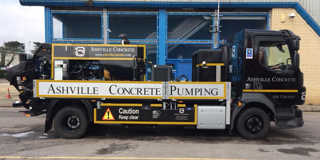 Concrete Pumping Service Oxshott