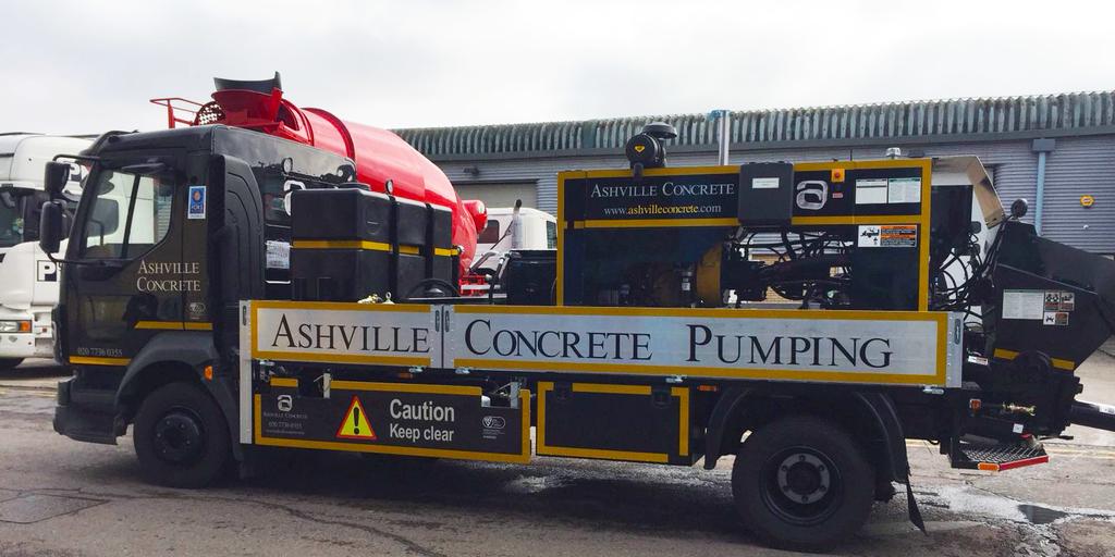 Concrete Pumping Service Hayes