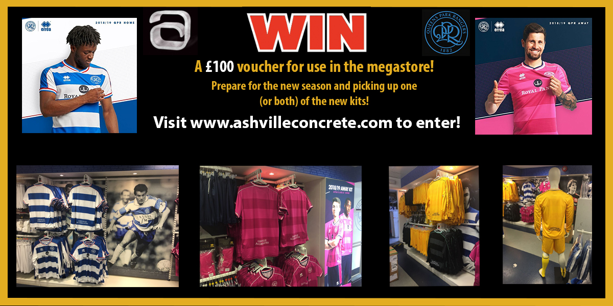 Win £100 to spend in the megastore!